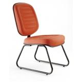 cadeira fixa tipo interlocutor preço Araraquara