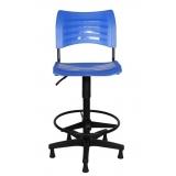 cadeira giratória alta para balcão valores Cabreúva