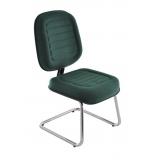cadeira interlocutor cromada preço Franco da Rocha