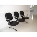 cadeira longarina 4 lugares à venda Jardim Avelino