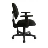 cadeira secretária giratória com braços jardim picolo