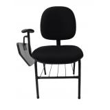 cadeira universitária com prancheta escamoteável Vila União