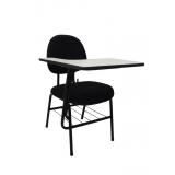 cadeira universitária com prancheta frontal preço Vila Esperança