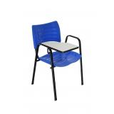 cadeira universitária em polipropileno Vila Carmosina