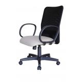 cadeira de escritório giratória de tela