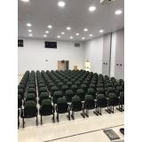 cadeiras de auditório com braço Bacaetava