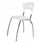 cadeiras de cozinha cromada Chácara Santo Antônio