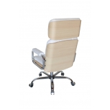 cadeiras de escritório branca Chácara Santo Antônio