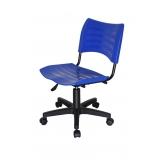 cadeiras de escritório giratória colorida Santa Isabel