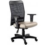 cadeiras de escritório giratória de tela Chácara Santo Antônio