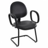 cadeiras de escritório interlocutor fixa Guaratinguetá