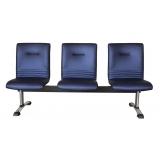 cadeira tripla recepção
