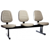 cadeiras de recepção com 3 lugares Granja Julieta