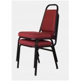 cadeiras empilhável para hotel Pinheiros