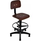 cadeira caixa alta ergonômica nr17