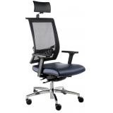 cadeiras escritório ajuste lombar Aeroporto