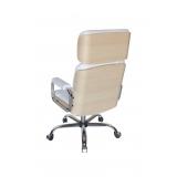 cadeiras escritório branca Chácara Cruzeiro Do Sul