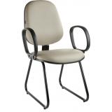 cadeira interlocutor com braço