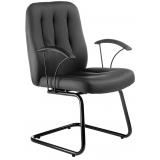 cadeiras interlocutor com braço Alumínio