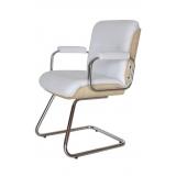 cadeiras interlocutor cromada Franca