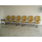 cadeiras longarinas 4 lugares Cabreúva