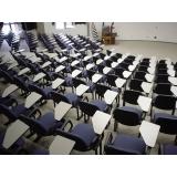 cadeiras longarinas com assento rebatível Vila Germaine