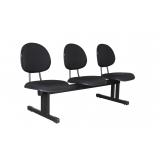 cadeiras longarinas estofada Cabreúva