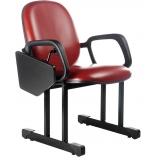 cadeiras para auditório com prancheta Lauzane Paulista
