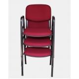 cadeiras para auditório empilhável Vila Vessoni
