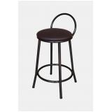 cadeiras para balcão de cozinha Santa Rita do Ribeira