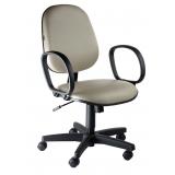 cadeira estofada escritório
