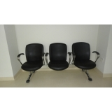 cadeiras para recepção longarina Vila Costa Melo