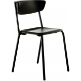 cadeiras preta para cozinha vila santista
