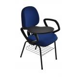 cadeiras universitária azul Perus