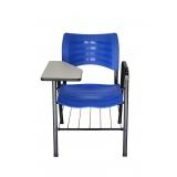 cadeira universitária em polipropileno