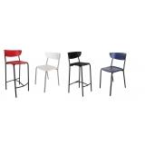 comprar cadeira colorida para cozinha Santa Efigênia