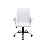 comprar cadeira home office branca Santa Rita do Ribeira