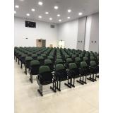 fornecedor de cadeira de auditório com braço Santa Efigênia