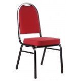 fornecedor de cadeira para auditório empilhável Vila São Francisco
