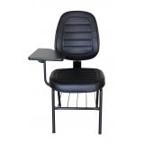 fornecedor de cadeira universitária estofada com prancheta Itaim Bibi