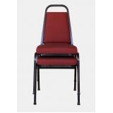 indústria de cadeira para auditório empilhável Vila Authalia