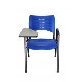 loja de cadeira universitária azul vila santista