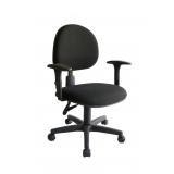 loja para cadeira secretária executiva ergonômica preto Tatuí