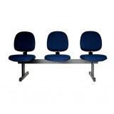 longarina cadeira 3 lugares Campo Grande