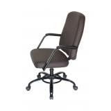 onde comprar cadeira escritório até 150kg Bacaetava
