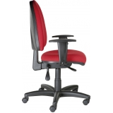 onde encontrar cadeira de escritório vermelha Pari
