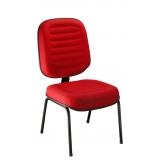 preço de cadeira de escritório interlocutor fixa Franco da Rocha