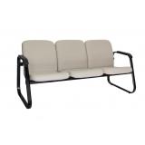qual o valor de sofá recepção 3 lugares Pinheiros