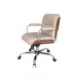 quanto custa cadeira de recepção escritório Brasilândia