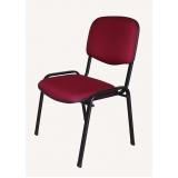 quanto custa cadeira estofada para igreja São Luís